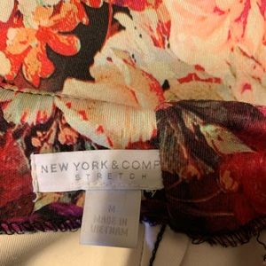 New York & Company floral pencil skirt
